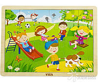 "Пазл Viga Toys ""Времена года. Весна"" (51269)"