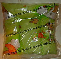 Детская подушки для новорожденных, нулевка,  размером-38х38 см