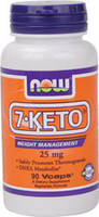 Средство для похудения 7-Кето / 7-Keto (DHEA Acetate), 25 мг 90 капсул