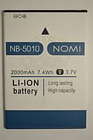 Аккумулятор Nomi i5010 EVO M (АКБ, Батарея) NB-5010 , оригинал