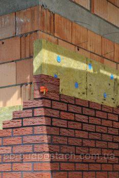 Будівництво тришарової стіни - етапи