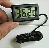 Цифровой термометр TPM-10 ( -50 до +110 С ) с выносным датчиком ( длина - 1 м ), фото 3