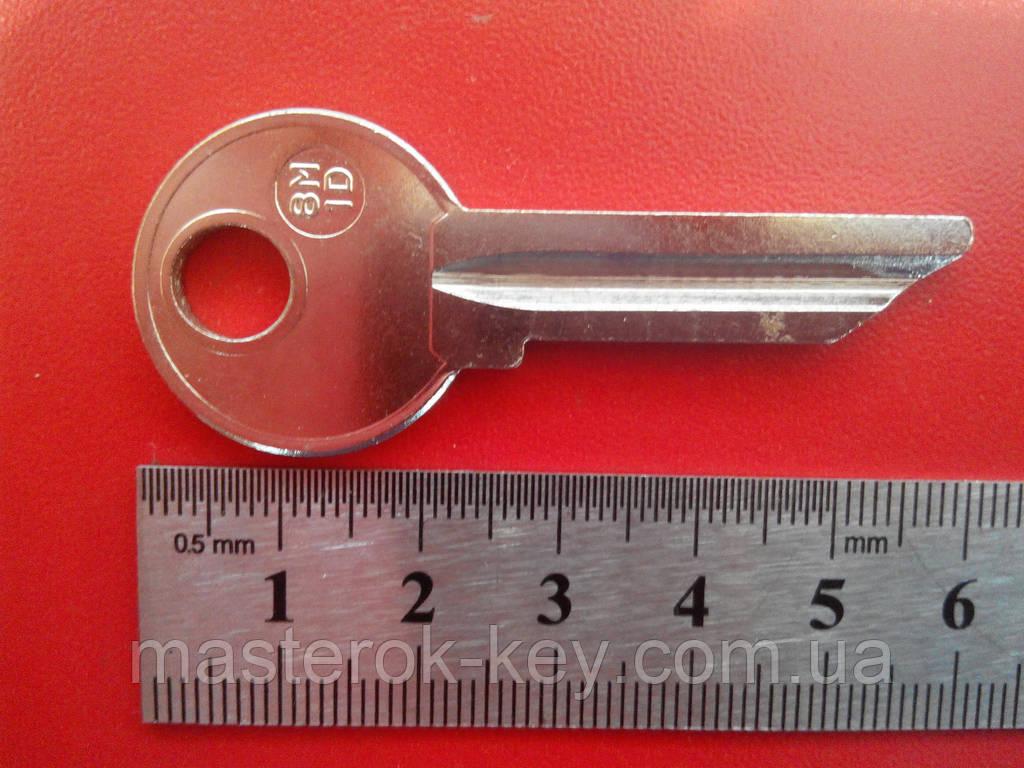 Заготовка ключа  8M-1D