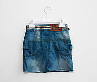 Модная джинсовая юбка для девочки