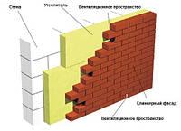 Вентиляція тришарової стіни