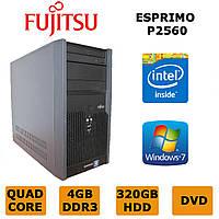 Fujitsu Esprimo P2560 - 4x2.5GHz /4GB DDR3 /320GB HDD
