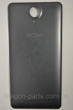 Задня кришка Nomi i5010 EVO M Сіра, оригінал, фото 2