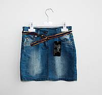 Модная джинсовая юбка для девочки (8-9 лет)