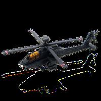 Объемный пазл Военный вертолет AH-64 Black Apache 4D Master (26300)