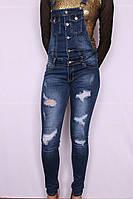 Модный женский джинсовый комбинезон Re-dress  (код RE7001), фото 1