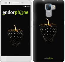 """Чехол на Huawei Honor 7 Черная клубника """"3585u-138"""""""