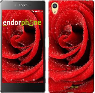 "Чехол на Sony Xperia Z5 Красная роза ""529u-274"""