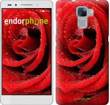 """Чехол на Huawei Honor 7 Красная роза """"529u-138"""""""
