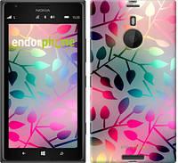 "Чехол на Nokia Lumia 1520 Листья ""2235u-314"""