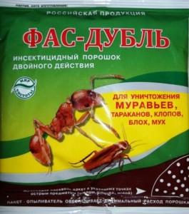 ФАС дубль 125 г. от тараканов,муравьев,клопов,блох,мух