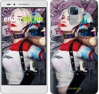 """Чехол на Huawei Honor 7 Отряд самоубийц """"3763u-138"""""""