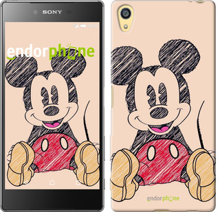 """Чехол на Sony Xperia Z5 Нарисованный Мики Маус """"2731u-274"""""""