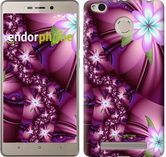 "Чехол на Xiaomi Redmi 3s Цветочная мозаика ""1961c-357"""