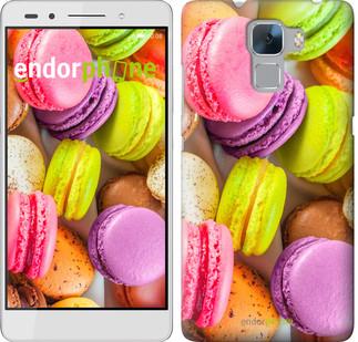 "Чехол на Huawei Honor 7 Макаруны ""2995u-138"""