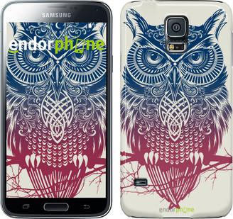 "Чехол на Samsung Galaxy S5 Duos SM G900FD Сова 2 ""2726c-62"""