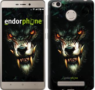 """Чехол на Xiaomi Redmi 3s Дьявольский волк """"833c-357"""""""