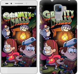 "Чехол на Huawei Honor 7 Gravity Falls v2 ""3259u-138"""