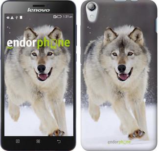 """Чехол на Lenovo P780 Бегущий волк """"826u-305"""""""