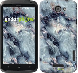 """Чехол на HTC One X Мрамор """"3479c-42"""""""