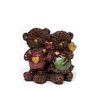 Подарок для влюбленных. Шоколадные влюбленные мишки, фото 1