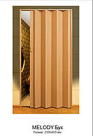 Двери-гармошки Melody Бук 2030х820 мм