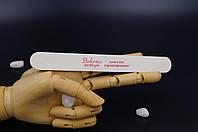 Пилочка минеральная BOHEMA белая узкая 80/80