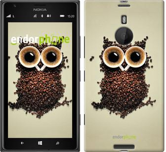 "Чехол на Nokia Lumia 1520 Сова из кофе ""777u-314"""