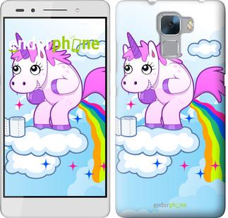 "Чехол на Huawei Honor 7 Единорожка ""3796u-138"""
