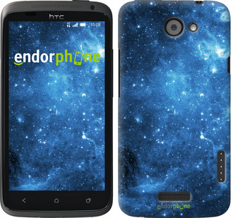 "Чехол на HTC One X Звёздное небо ""167c-42"""