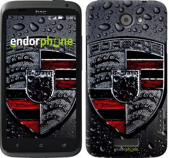 """Чехол на HTC One X Porsche 2 """"978c-42"""""""