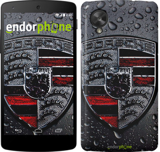 """Чехол на LG Nexus 5 Porsche 2 """"978c-57"""""""