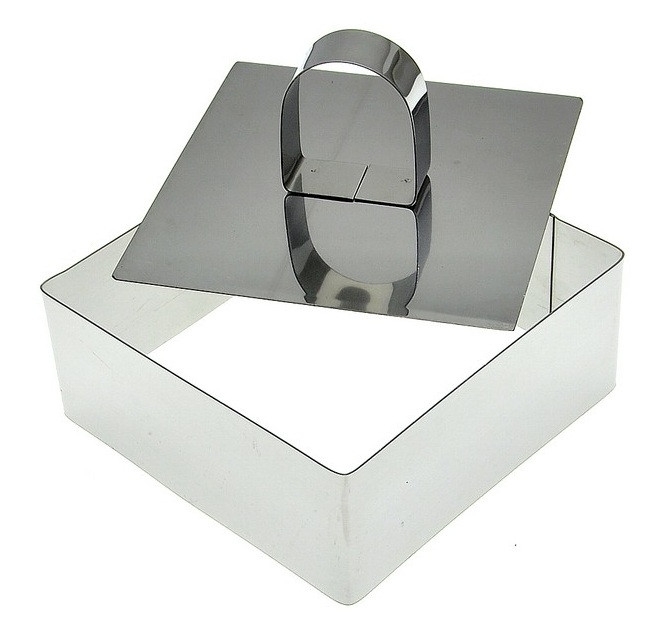 Пресс для придания формы салатам, гарнирам, десертам (квадрат)