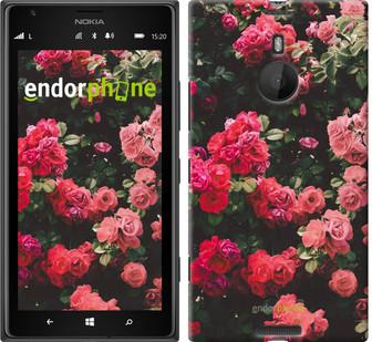"""Чехол на Nokia Lumia 1520 Куст с розами """"2729u-314"""""""