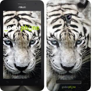 """Чехол на Asus Zenfone 5 Грустный белый тигр """"106c-81"""""""