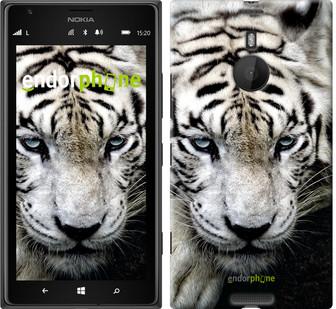 "Чехол на Nokia Lumia 1520 Грустный белый тигр ""106u-314"""