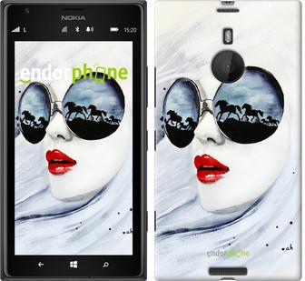 "Чехол на Nokia Lumia 1520 Девушка акварелью ""2829u-314"""
