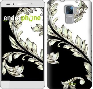 """Чехол на Huawei Honor 7 White and black 1 """"2805u-138"""""""