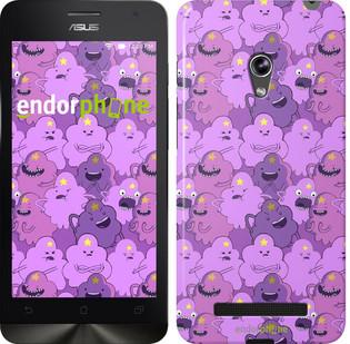 "Чехол на Asus Zenfone 5 Принцесса Пупырка. Adventure Time. Lumpy Space Princess v3 ""1228c-81"""