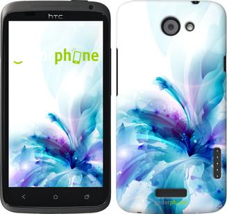 """Чехол на HTC One X цветок """"2265c-42"""""""