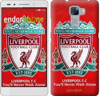 """Чехол на Huawei Honor 7 Ливерпуль """"2561u-138"""""""