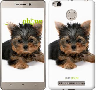 """Чехол на Xiaomi Redmi 3s Щенок йоркширского терьера """"931c-357"""""""