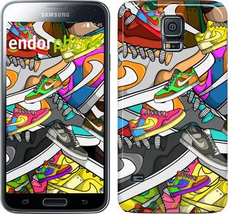 "Чехол на Samsung Galaxy S5 Duos SM G900FD World of Nike ""2703c-62"""