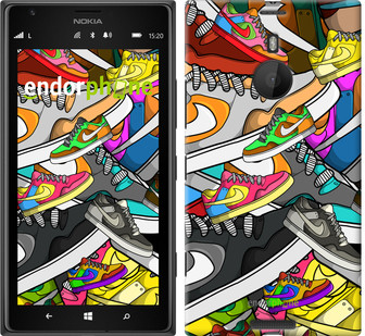 "Чехол на Nokia Lumia 1520 World of Nike ""2703u-314"""