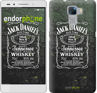 "Чехол на Huawei Honor 7 Whiskey Jack Daniels ""822u-138"""