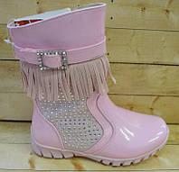 Демисезонные ботиночки для девочек Шалунишка размеры 26-28